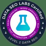 Certification Data Labs SEO Francois Paren