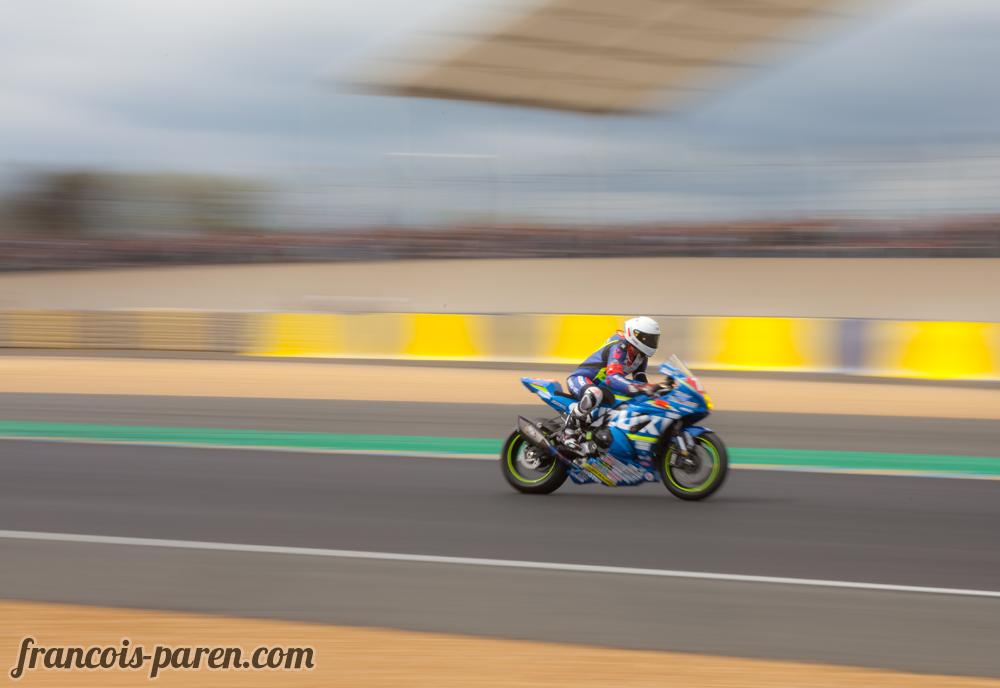 Suzuki au 24h motos du Mans 2017